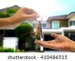 purchasing  property with two... | Shutterstock . vector #410486515