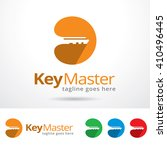 key master logo template design ...   Shutterstock .eps vector #410496445