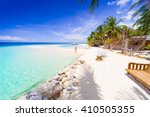 beautiful amazing nature... | Shutterstock . vector #410505355