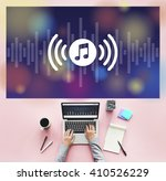 music listening audio...