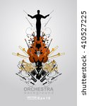 the orchestra vector background....
