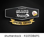 black friday special offer... | Shutterstock .eps vector #410538691