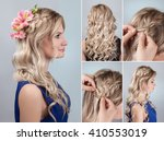 Simple Braid Hairstyle With...