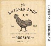 Butcher Shop Vintage Emblem...