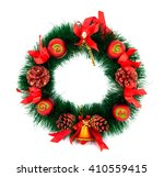 christmas tree decoration... | Shutterstock . vector #410559415