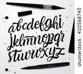 handwritten script font. hand...