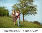 photo of a young family... | Shutterstock . vector #410627239