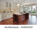 kitchen with island | Shutterstock . vector #41064163