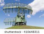 military equipment radio. the... | Shutterstock . vector #410648311