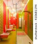 3d illustration of a bathroom... | Shutterstock . vector #410681194