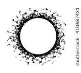 circle made out of different... | Shutterstock .eps vector #410687431