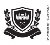 coat of arms   shield with... | Shutterstock .eps vector #410699314