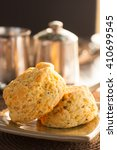 Cheese And Herb Scones Served...