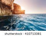 fantastic views of rocky coast... | Shutterstock . vector #410713381