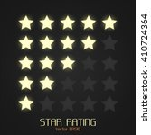 star rating vector template. | Shutterstock .eps vector #410724364