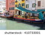 floating fruit market in venice ... | Shutterstock . vector #410733001