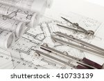 rolls of architecture... | Shutterstock . vector #410733139