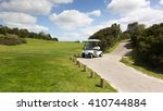 Golf Sport  Golf Course With A...
