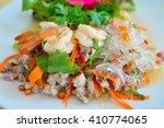 yum wun sen seafood  thai spicy ... | Shutterstock . vector #410774065