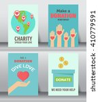 give and share your love to... | Shutterstock .eps vector #410779591
