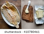 Dried Fish. Hardfiskur  Iceland.