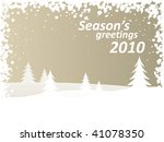 winter background | Shutterstock .eps vector #41078350
