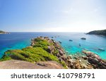 "view point from the rock ""sail"" ... 