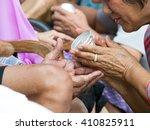 bangkok thailand.14 april 2016... | Shutterstock . vector #410825911