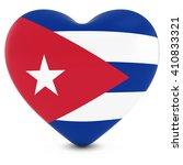 love cuba concept image   heart ... | Shutterstock . vector #410833321