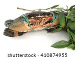Mud Crab Tied With String And...
