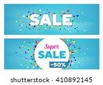 sales banners   modern design... | Shutterstock .eps vector #410892145