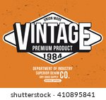 vintage typography  t shirt... | Shutterstock .eps vector #410895841