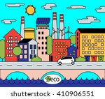 colorful vector illustration... | Shutterstock .eps vector #410906551