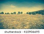 beautiful rural landscape ... | Shutterstock . vector #410906695