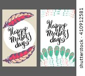 mothers day cards. good for... | Shutterstock .eps vector #410912581