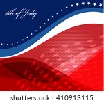 abstract image of the american... | Shutterstock .eps vector #410913115