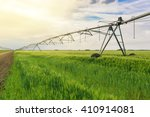 sprinkler irrigation system in...