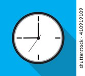clock icon   vector... | Shutterstock .eps vector #410919109