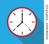 clock icon   vector... | Shutterstock .eps vector #410919121