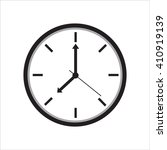 clock icon   vector... | Shutterstock .eps vector #410919139