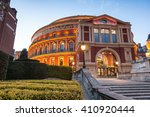 illuminated the royal albert... | Shutterstock . vector #410920444