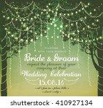inspiration card for wedding ... | Shutterstock .eps vector #410927134