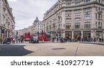 london nov 09 view of oxford... | Shutterstock . vector #410927719