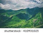 green caucasus  mountain... | Shutterstock . vector #410931025