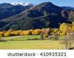 Landscape In Oncins  Pyrenees ...