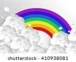 stylized paper intended for... | Shutterstock .eps vector #410938081