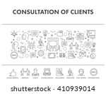 outline design concept web... | Shutterstock .eps vector #410939014