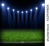 the soccer stadium with the... | Shutterstock . vector #410959804