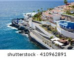 puerto de santiago  tenerife  ... | Shutterstock . vector #410962891