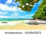 paradise beach in koh maiton...   Shutterstock . vector #410965051
